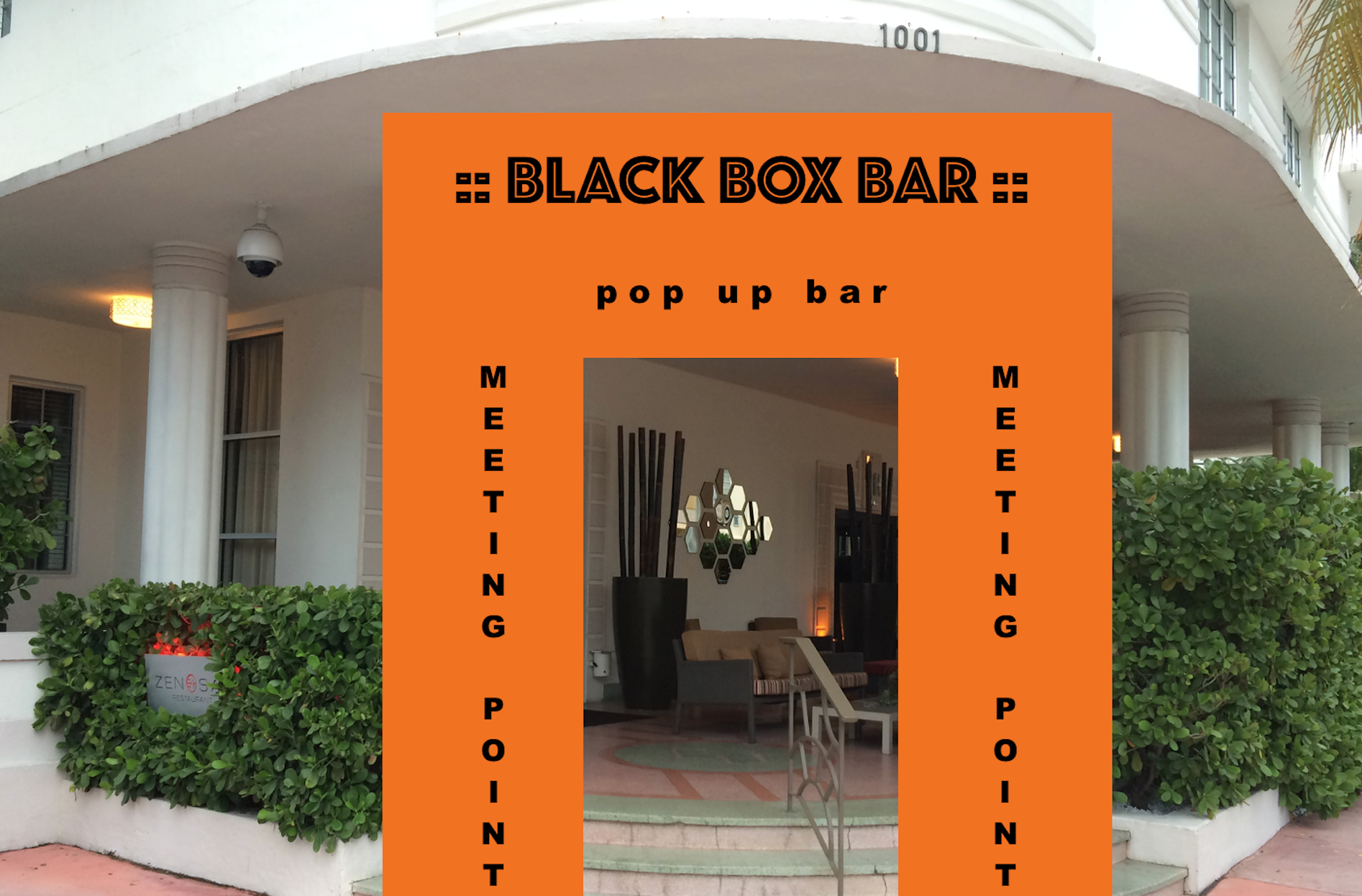 pop up bar will open at zen sai miami beach 2017 black box bar. Black Bedroom Furniture Sets. Home Design Ideas